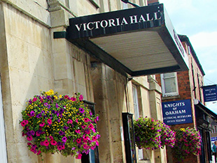 Victoria Hall win funding awards